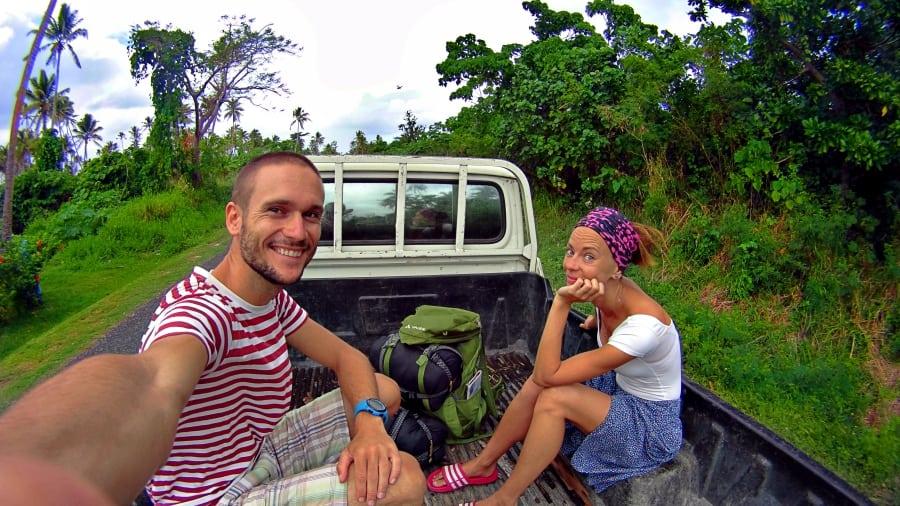 Cestovanie stopom po Vanuatu