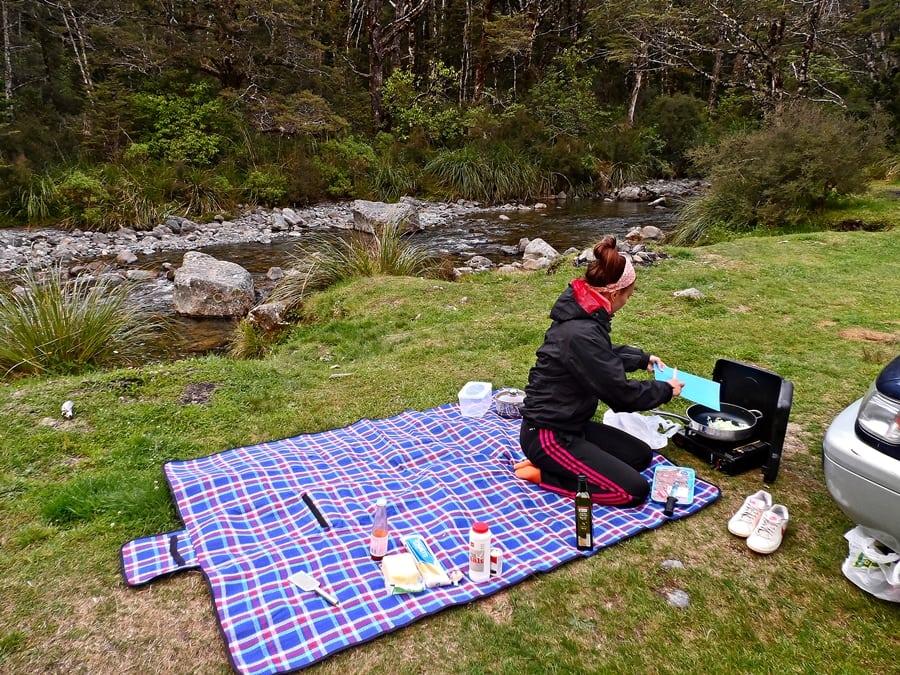 Kempovačka na Novom Zélande má svoje čaro