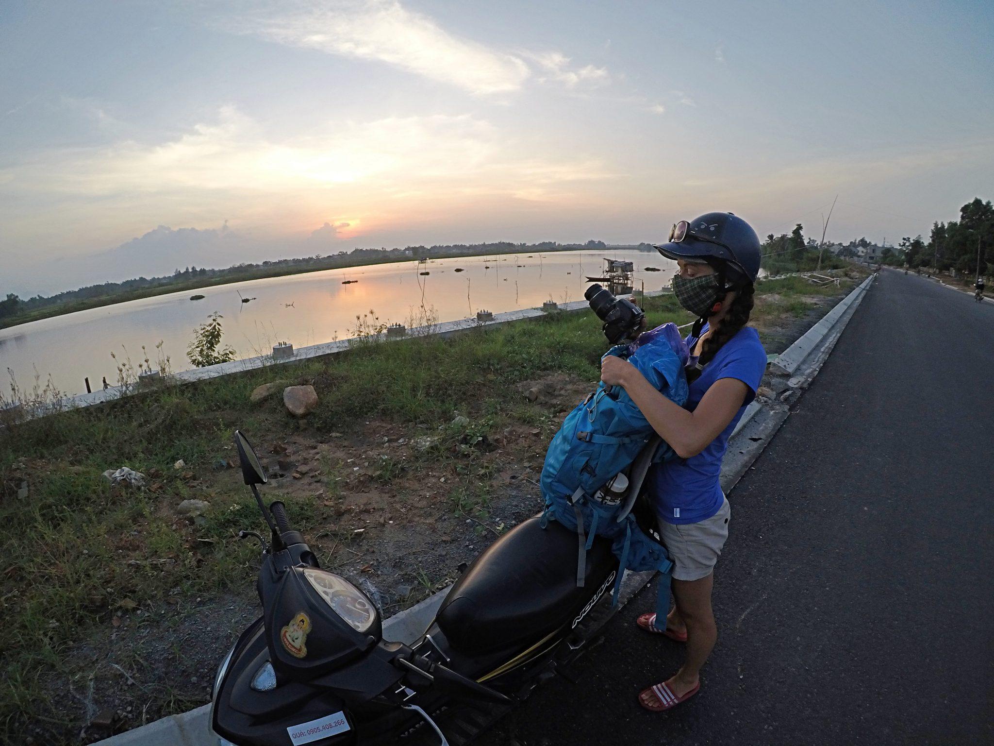 vietnam motorka doprava cestovanie